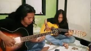 Titanic Guitar Cover rasa Sape by Kandigo..