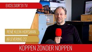 Screenshot van video Koppen zonder noppen #22 | René Klein Horsman: Een bakkerszoon die profvoetballer en architect werd