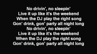Wiz Khalifa No Sleep (Lyrics)