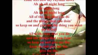 Rochelle - All Night Long Lyrics