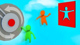 INTENSE FLYING DON'T MOVE CHALLENGE! (Human Fall Flat)