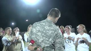 Video - Surprise Proposal to West Point Womens Soccer Captain