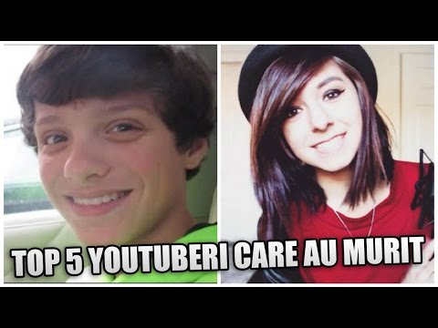 TOP 5 YOUTUBERI CARE AU MURIT