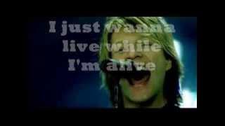 Bon Jovi - It's My Life LIVE (lyrics)