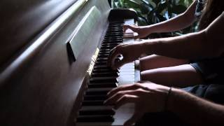 Thunderstruck Cover piano 4 hands (Pizzuti brothers) - 2cellos tribute