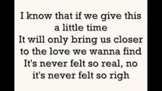 Lady Antebellum Just A Kiss (Lyrics Video)