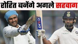 Sunil Gavaskar believes Rohit Sharma can succeed like Virender Sehwag in Test Cricket