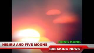 Nibiru And Six Moons Over Hong Kong December 18, 2015