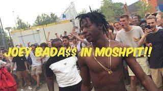 Joey Bada$$ in MOSHPIT 1080p WOO HAH festival 2015