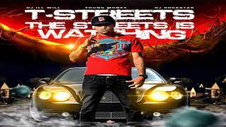 "T-Streets Ft. 2 Chainz "" On The Grind "" Lyrics (Free To The Streets Is Watching Mixtape)"