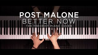 Post Malone - Better Now | The Theorist Piano Cover