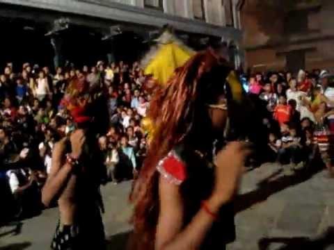 Indra Jatra Dance Festival.flv