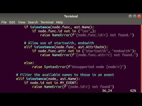 Safely eval Python syntax using the AST module