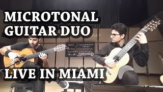 Arıx - Microtonal Guitar Duo - Live in Miami