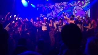 "Yung Lean ""Kyoto"" live - Crowd Rushes the Stage in Brooklyn"