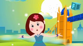 London Bridge Is Falling Down | Children Nursery Rhymes | Song Lyrics