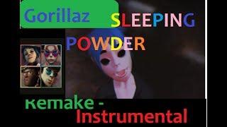Gorillaz - Sleeping Powder (Karaoke/Instrumental) with Lyrics |HD