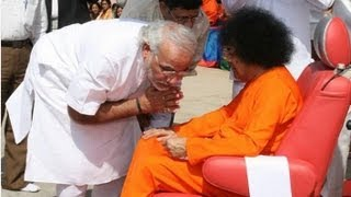 High-Ranking Politicians with Bhagawan Sri Sathya Sai Baba