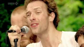 Coldplay Yellow + Chris Martin acoustic Live HD