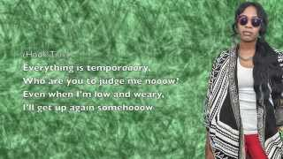 Saba - Temporary (ft. Tink) - Lyrics
