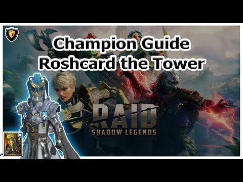 RAID Shadow Legends | Champion Guide | Roshcard the Tower