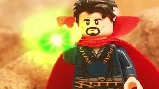 Lego Avengers Infinity War Doctor Strange gives Thanos the Time Stone Lego Stop Motion