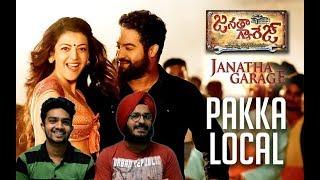 Pakka Local Full Video Song Reaction |