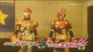 Kamen Rider Ex-Aid Double Fighter Gamer lv 39 First Henshin