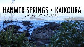 Hanmer Springs + Kaikoura, NZ (2016)