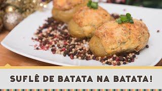 Suflê de Batata na Batata | Natal Sadia 2014 #02 - Receitas de Minuto