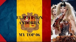 Andorra in Eurovision - My Top [2000 - 2016]