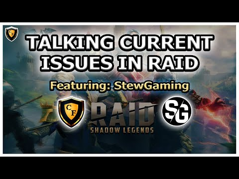 RAID Shadow Legends | TALKING CURRENT ISSUES | Feat. StewGaming