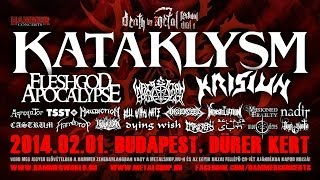 Kataklysm: I. Death By Metal Festival Trailer 2014. feb. 01. Dürer Kert, Budapest, Hungary
