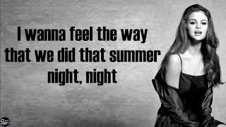SELENA GOMEZ - Wolves [lyrics] Ft Marshmello