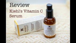 Skincare Review | รีวิวสกินแคร์ | Kiehl's Vitamin C | วิตามินซี คีลส์