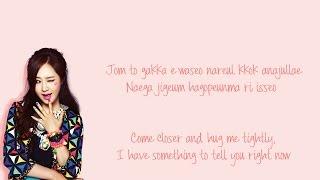 Girls' Generation SNSD (소녀시대) - Snowy Wish Color Coded Lyrics [Eng Sub & Kor Rom]