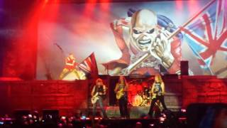 Iron Maiden - The Trooper - Castelão - Fortaleza, Ceará