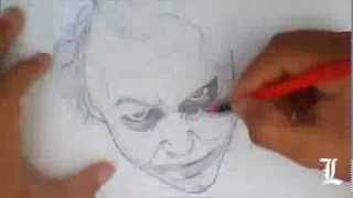 Drawing Joker - Desenhando Coringa (Filme Batman)