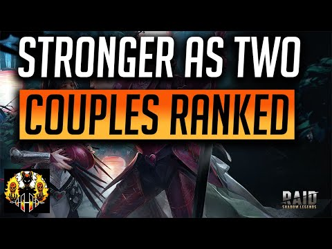 RAID: Shadow Legends | POWER COUPLES VIEWED AND RANKED!