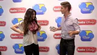 Selena Gomez 60 Second Challenge at Radio Disney | Radio Disney