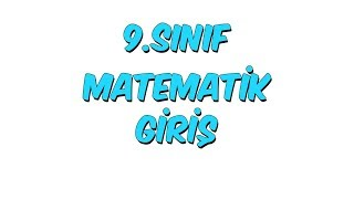 9.Sınıf Matematik - MANTIK