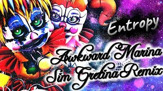 FNAF / SFM | Devoured Fantasy | Awkward Marina (Sim Gretina Remix) - Entropy (MLP song)