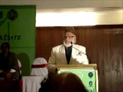 Mustafa Zaman Abbasi at SAARC Lit Fest 2012.wmv