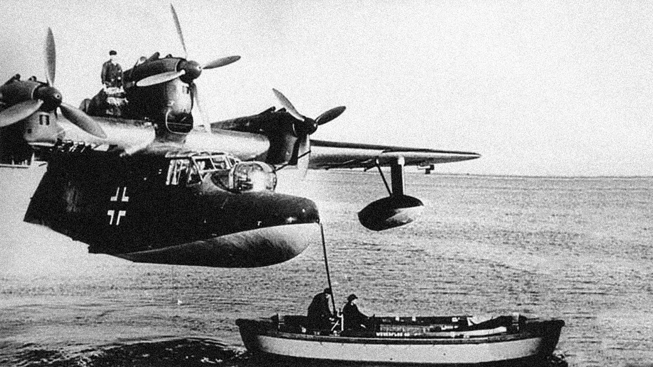 The Secret German Bases Dropped into the English Channel