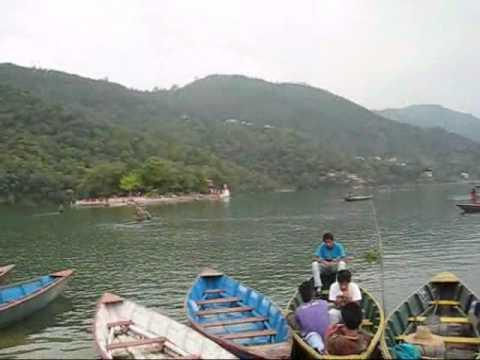 Tourist at Phewa Lake