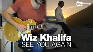 Wiz Khalifa ft. Charlie Puth - See You Again - Electric Guitar Cover by Kfir Ochaion
