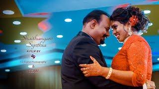 SS DIGITAL PHOTOGRAPHY - Shaithanyam + Synthia / best creative candid wedding photographers chennai