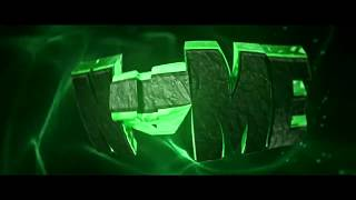Free Rap 60fps 3D Green Intro Template #564 C4D & AE + FREE DOWNLOAD