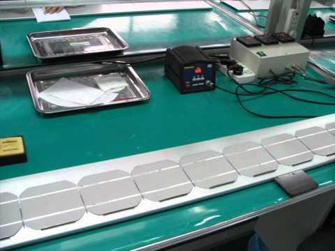 Solar Panels manufactured by Shourobangla