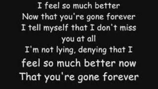 Three Days Grace - Gone Forever Lyrics